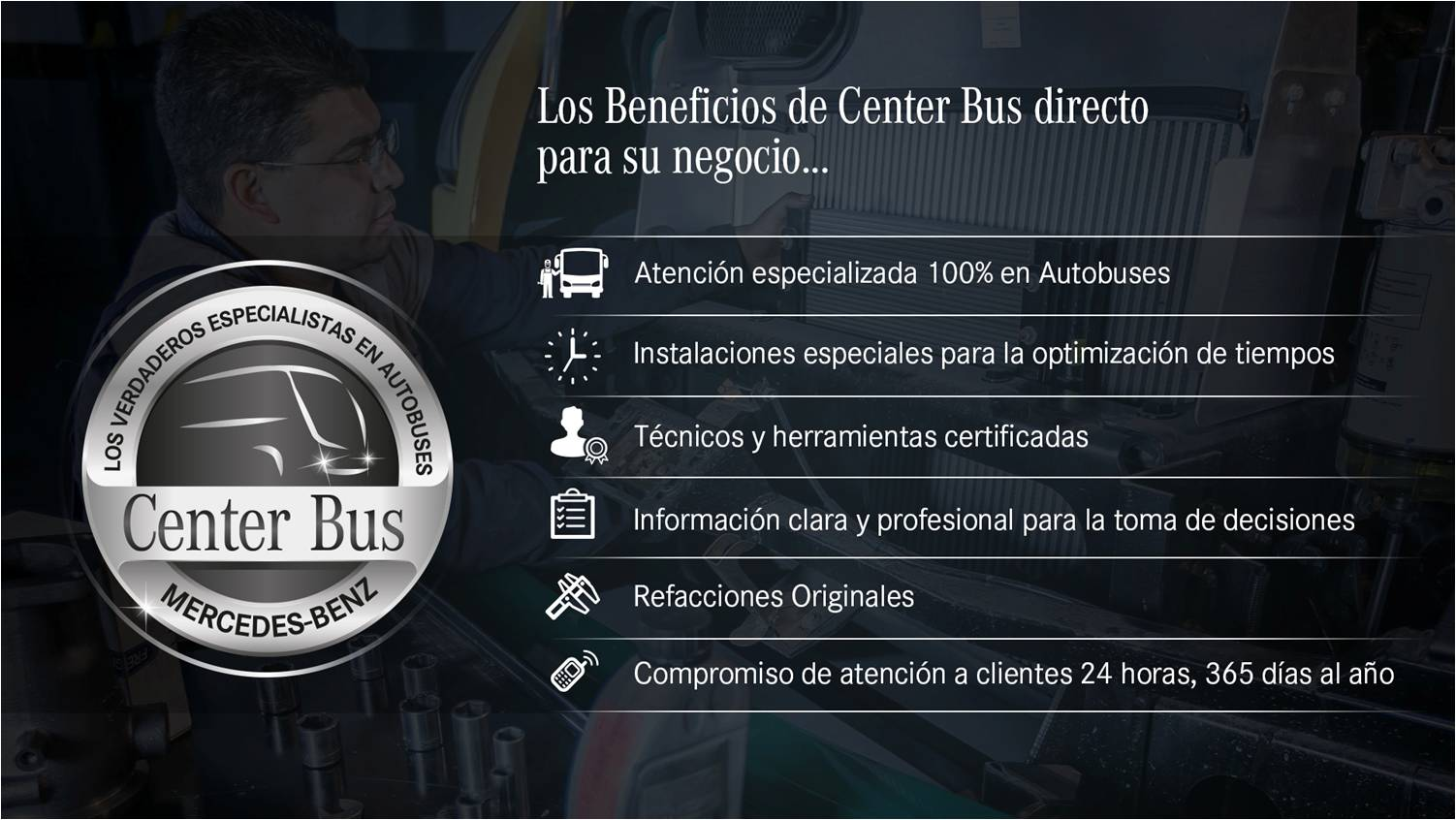center bus